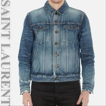 SAINT LAURENT Jacket in Blue Denim