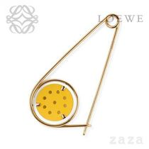 LOEWE★ロエベ Small Meccano Pin Yellow/Gold