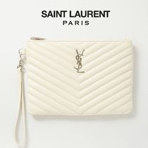 ∞∞ Saint Laurent ∞∞ Monogramme レザーポーチ☆