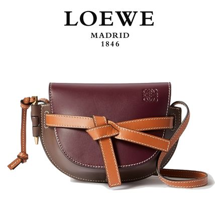 ∞∞ LOEWE ∞∞ Gate mini leather ショルダーバッグ☆