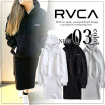 RVCA(ルーカ) ワンピース 【関税込み】RVCA レディース IN SIDE OUT OVERSIZE パーカー