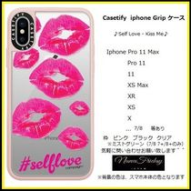 Casetify iphone Grip case♪Self Love - Kiss Me♪