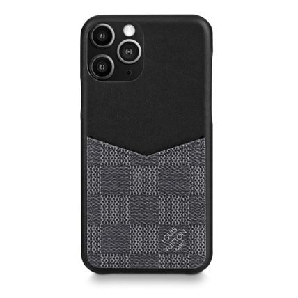 Louis Vuitton スマホケース・テックアクセサリー 即発★Louis Vuitton iphone 11 Pro ケース ダミエ・グラフィット(4)