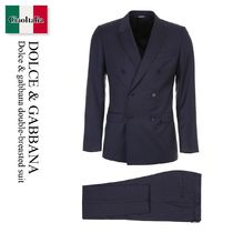 Dolce gabbana double-breasted suit