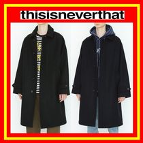 【thisisneverthat】WOOL OVER COAT  / 追跡付