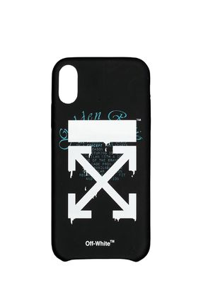 Off-White スマホケース・テックアクセサリー 【関税/送料込】【Off-White】DRIPPING iPhone XS ケース