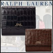 【POLO RALPH LAUREN】Leather Compact Wallet