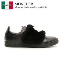 MONCLER Thalie Sneakers With Fur