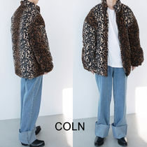 COLN  Reeves Leopard Patterned Jacket (2color)