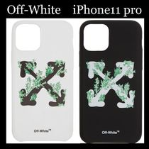 【Off-White】 Corals iPhone 11 Pro ケース ロゴ 白 黒