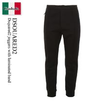 Dsquared2 joggers with laminated band