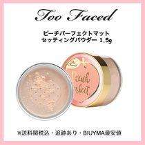 Too Faced●ピーチパーフェクトマットセッティングパウダー