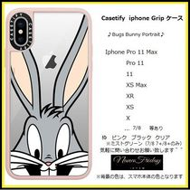 Casetify iphone Grip case♪Bugs Bunny Portrait♪