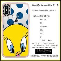 Casetify iphone Grip case♪colette Tweety Bird Portrait♪