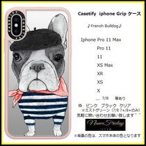 Casetify iphone Grip case♪French Bulldog♪