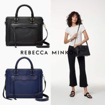 即発★Rebecca Minkoff★Bree MD  Top Zip Leather Satchel 2way