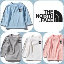 【THE NORTH FACE】国内発☆L/S SQUARE LOGO SLEEVE TEE ベビー