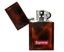 【在庫あり】SUPREME 19FW PEARL HARD EDGE LIGHTER TORTOISE