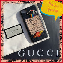 Special price!! Gucci☆男女兼用アップリケがCoolなiphoneCase