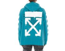 即発送 OFF WHITE 20SS DRIPPING ARROWS INCOMPLETE HOODIE