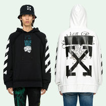 OFF WHITE 20SS DRIPPING ARROWS INCOMPLETE HOODIE