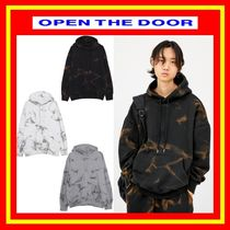 [OPEN THE DOOR]  crack washing warm hood  -[全3色] /男女兼用