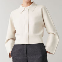 COS KNITTED CROPPED JACKET