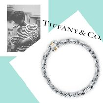 【Tiffany&Co】Makers ナロー ブレスレット silver & 18K gold