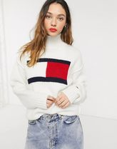 Tommy Jeans(トミージーンズ)  ロゴ入り ニット 送料込み