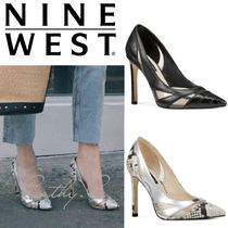 Nine West*スネーク柄*ワニ柄*美脚*パンプス/Tamika Pumps