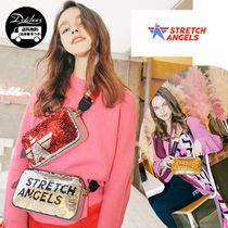 STRETCH ANGELS PANINI double spangle bag YU132 追跡付