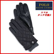POLO☆QUILTED FIELD GLOVE 男女OK♪あったか手袋☆正規品