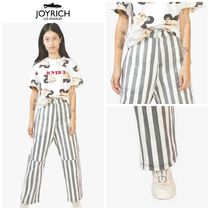 【JOYRICH】☆日本未入荷☆ Wide Stripe Denim Pants