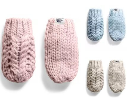 THE NORTH FACE 子供用帽子・手袋・ファッション小物 THE NORTH FACE★キッズニットミトン★BABY MINNA MITTS