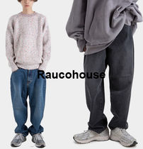 RAUCOHOUSE  BAGGY FIT OVER DENIM PANTS s998