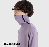 RAUCO HOUSE  SOFT TOUCH LINE HIGH NECK TOP s993