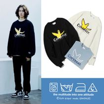 限定★COVERNAT x M/G★LAUNDRY AUTHENTIC LOGO CREWNECK 全3色