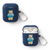 ★A PIECE OF CAKE★エアポットケース Hoodie Bear AIRPODS Case