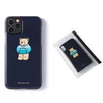 ★A PIECE OF CAKE★韓国 ハードケース Hoodie Bear Phone Case