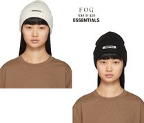FEAR OF GOD(フィアオブゴッド) ニットキャップ・ビーニー ☆国内発送 正規品☆FOD Essentials Rib Beanie 2color!