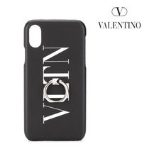 VALENTINO☆VLTN iPhone X用 ケース / black