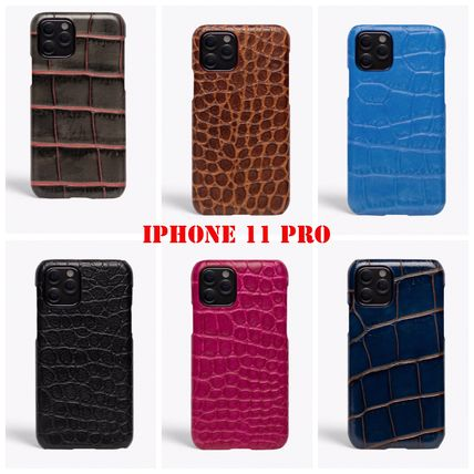 THE CASE FACTORY スマホケース・テックアクセサリー The Case Factory★iPhone 11 PRO ケースクロコダイル 6色