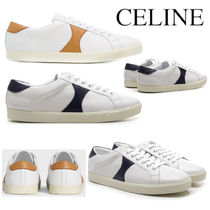 《新作》CELINE TRIOMPHE LOW LACE UP SNEAKER IN CALFSKIN