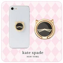 kate spade☆cat ring stand☆ねこ☆スマホバンカーリング☆