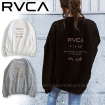 【RVCA】ルーカ IN SIDE OUT OVERSIZE トレーナー☆メンズ