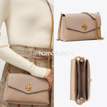 【Tory Burch】KIRA MIXED-MATERIALS MINI BAG/Gray Heron