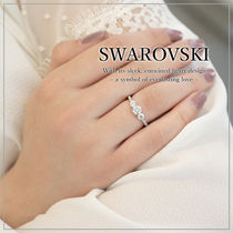 VIP価格【SWAROVSKI】ATTRACT TRILOGY ROUND リング