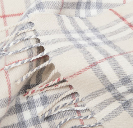 Burberry キッズ・ベビー・マタニティその他 Burberry Vintage Check Wool Flannel Baby Blanket(3)