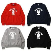 A BATHING APE★RELAXED CLASSIC COLLEGE クルーネック