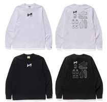A BATHING APE★STA ILLUSTRATION L/S TEE ロンT 送料関税込み